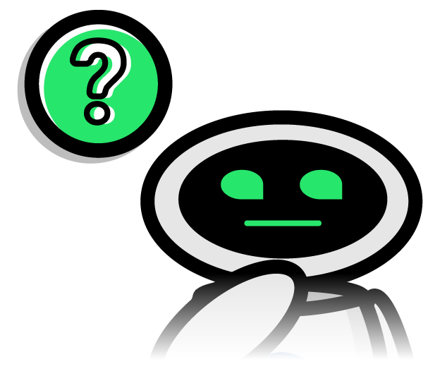 gleanbot with question mark